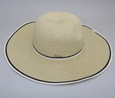 Women's Wide Brim Hat, Beige