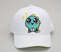 GuGu Cartoon Baseball Cap, White