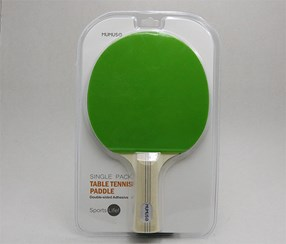 Single Pack Table Tennis Paddle