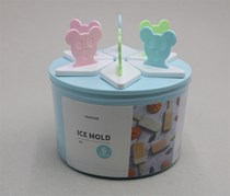 Ice Mold-Bear, Blue/Pink/Green/White