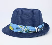 Panama Hat, Blue