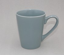 Mug Colored Glaze, Gray
