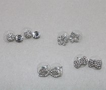Earring Set, Silver