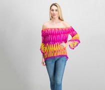 Women Off-The-Shoulder Top, Parrot Sun