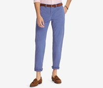 Ralph Lauren Men's Big & Tall Stretch Classic-Fit Chino Pants, Blue