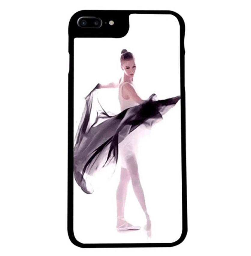 iPhone 7 Animated Case, Black/White