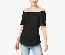 Inc International Concepts Off-The-Shoulder Top, Deep Black