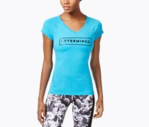 Ideology Determined Graphic T-shirt, True Turquoise