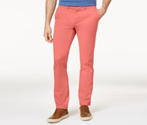 Tommy Hilfiger Men's Custom Fit Chino Pants, Coral