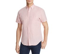 The Men's Store at Bloomingdale's Regular Fit Button-Down Shirt, Pink