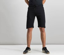 Tahari Sports Men's Zippered Pocket Short, Black