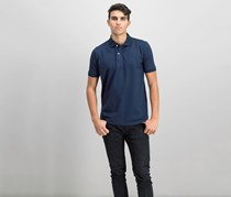Tahari Mens Flex Polo Shirt, Navy