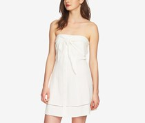 1.State Strapless Tie-Front Dress, Antique White
