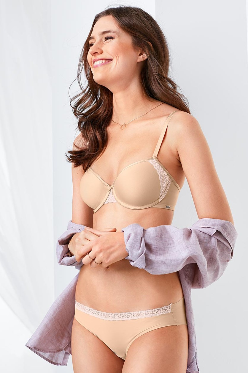 Women's Spacer Cup Bra, Skin