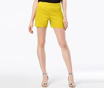 INC International Concepts Curvy Pull-On Shorts, Polished Gold