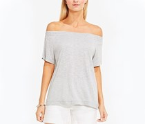 Vince Camuto Off-The-Shoulder Top, Grey Heather