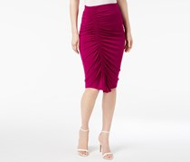 Vince Camuto Ruched Pencil Skirt, Fuchsia Fury