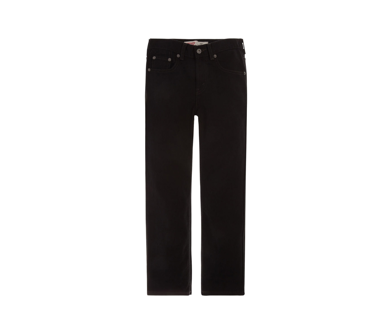 Boys' 550 Regular Relaxed Fit Jeans, Black