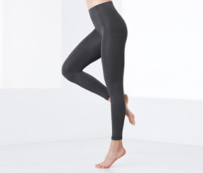 Thermal Leggings, Gray
