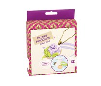 Keycraft Make Your Own Flower Necklace Craft Kit, Purple