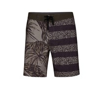 Hurley Mens Phantom Tiger 7 Swim Trunk, Dark Stucco