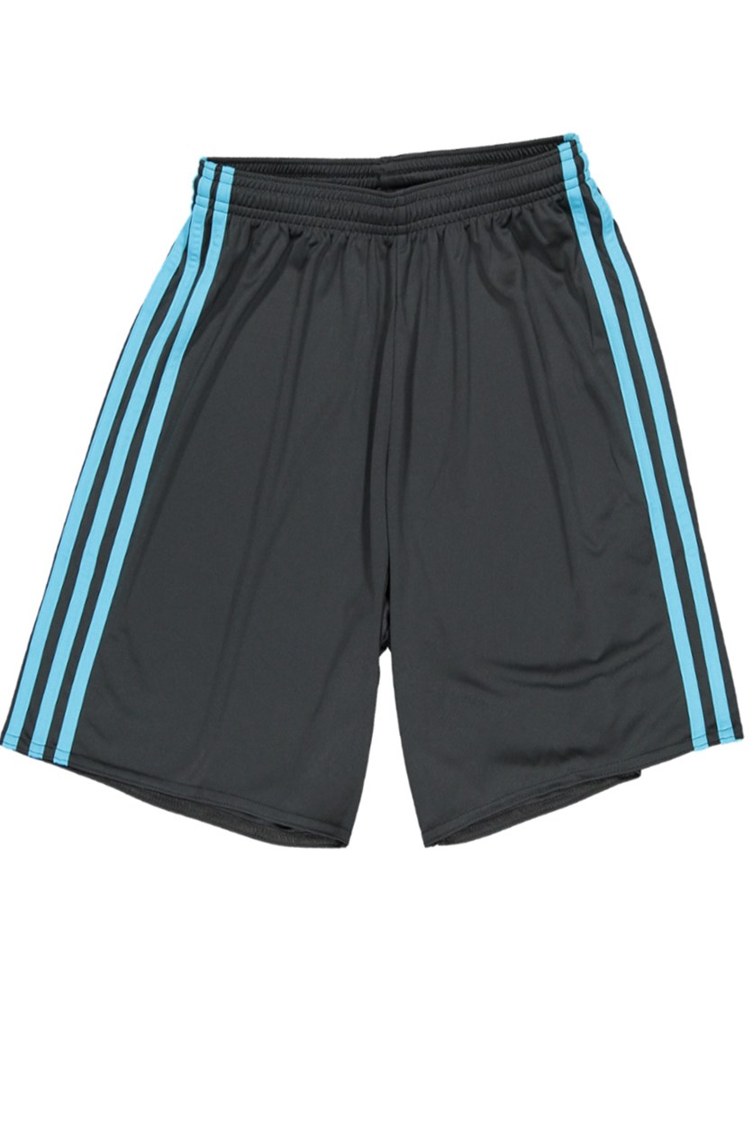 Women's Sport Short, Dark Grey/Blue