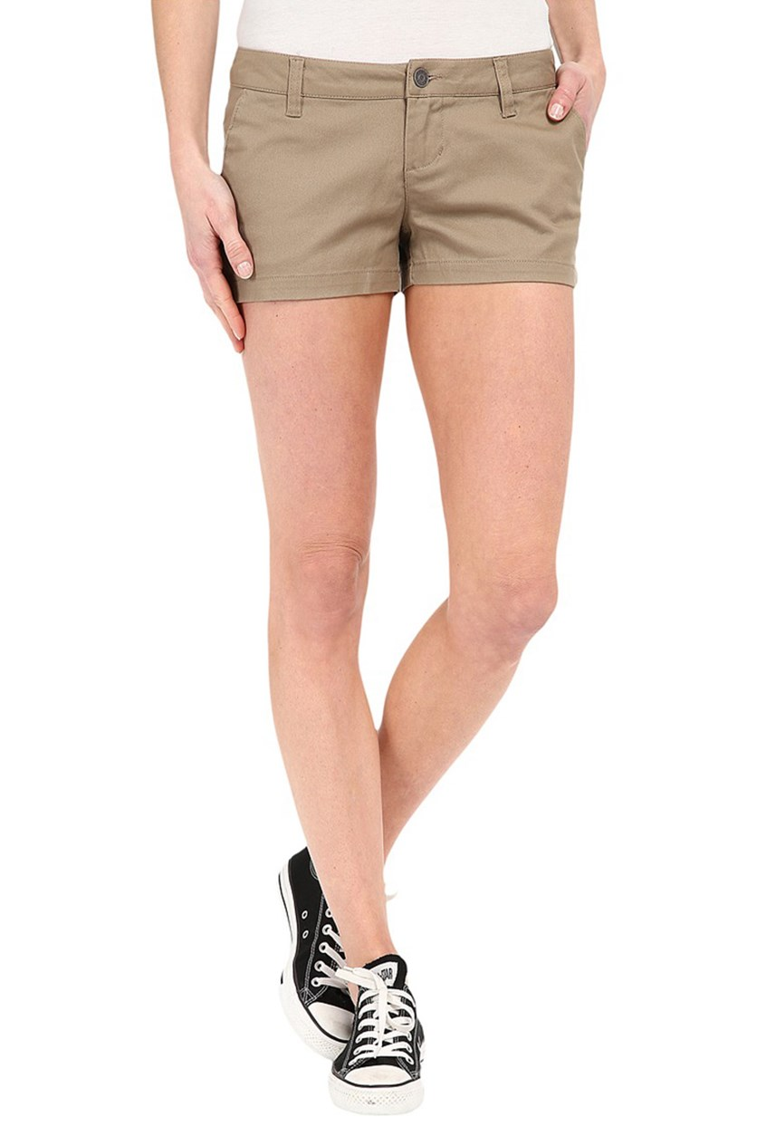 Juniors' Frochickie Four-Pocket Short, Khaki