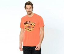 Reebok Men's T-Shirt, Orange