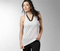 Reebok Women's Tank, White