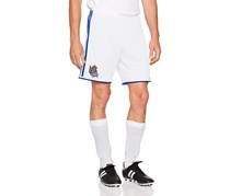 Adidas Real Sociedad FC Men's Shorts, White/Blue