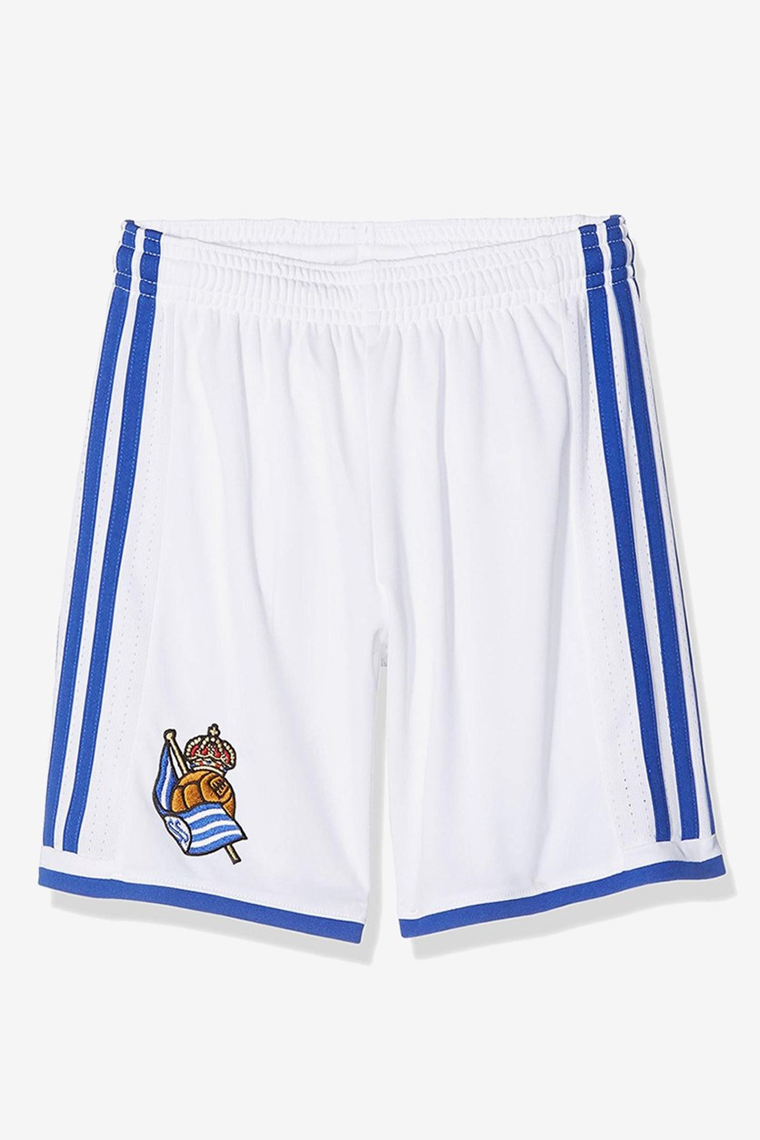 Real Society Home Shorts, White/Blue