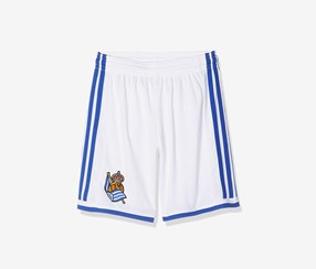 Adidas Real Society Home Shorts, White/Blue