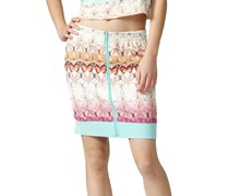Adidas Butterflies Track Skirt, Turquoise Combo