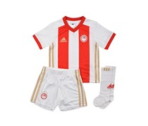 Adidas OFC Home Performance Mini Jersey Set, White/Red