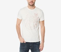 Mens Graphic-Print T-Shirt, Pearl