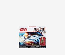 Star Wars Force Resistance A-Wing Fighter And Resistance Pilot, Blue Combo
