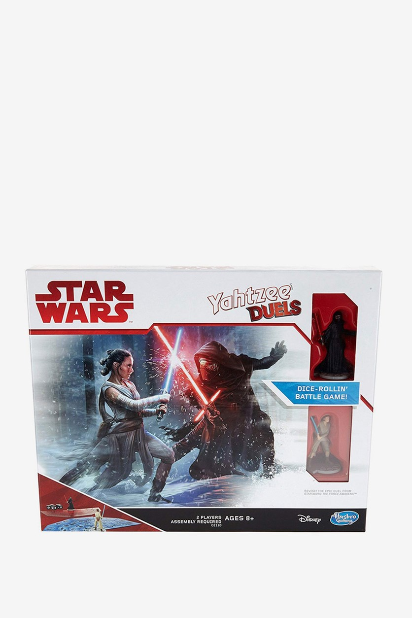 Gaming Yahtzee Duels Star Wars Edition Game, Blue/Red