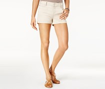 Celebrity Pink Juniors Cuffed Colored-Wash Short, Stone