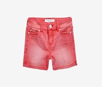 Celebrity Pink Colored Denim Shorts, Tea Berry Dak