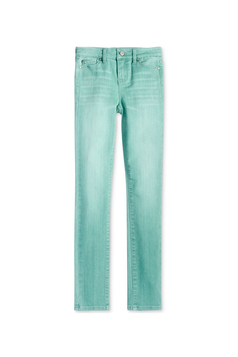 Skinny-fit Denim Jeans, Light Teal