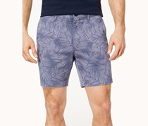 Michael Kors Mens Classic-Fit Stretch Floral, Smokey Blue