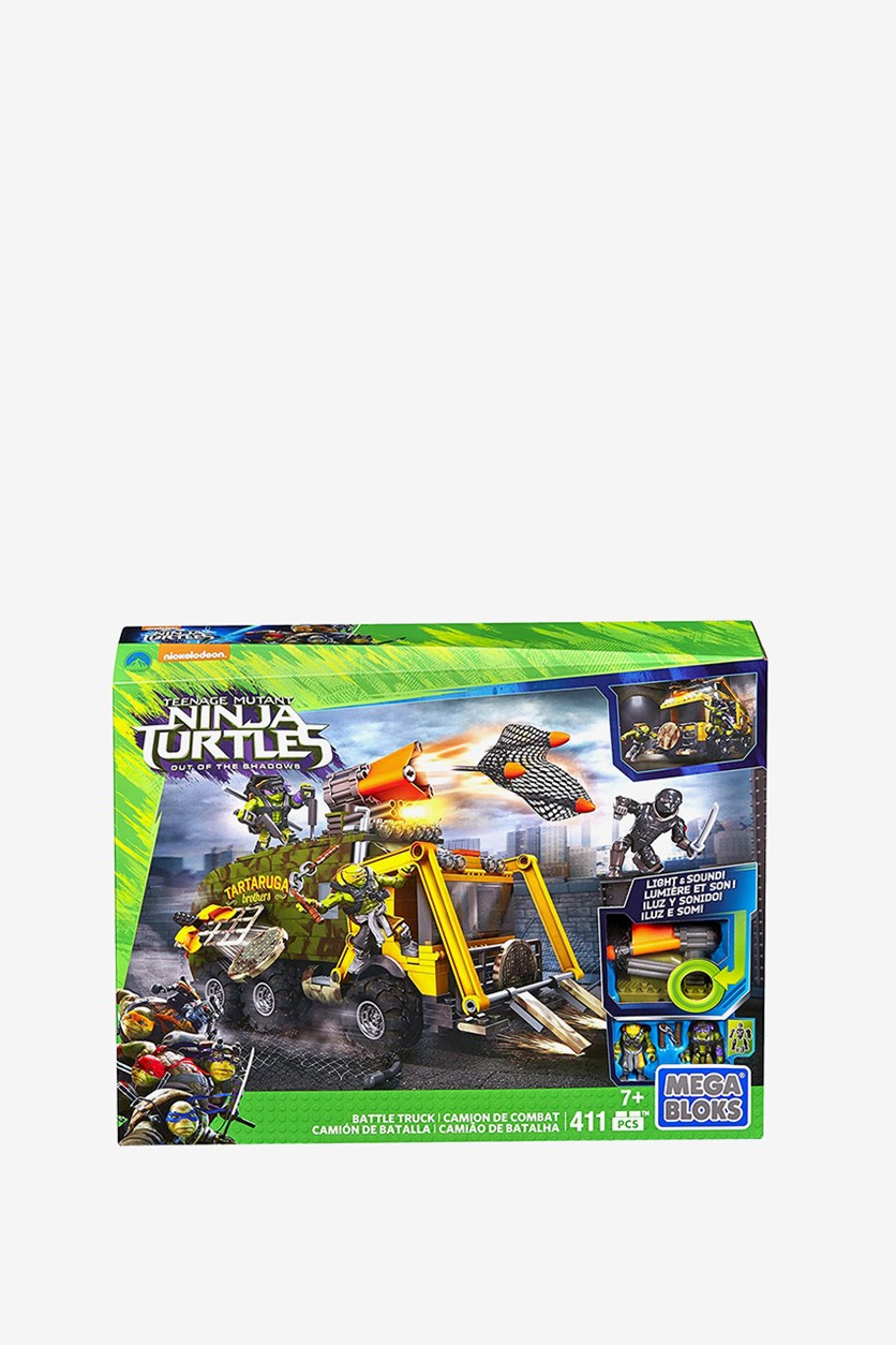 Teenage Mutant Ninja Turtles Battle Truck Construction Set, Green Combo