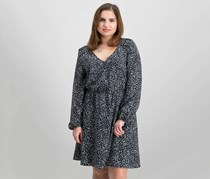 Collective Concepts Women's Dress, Navy/Ivory