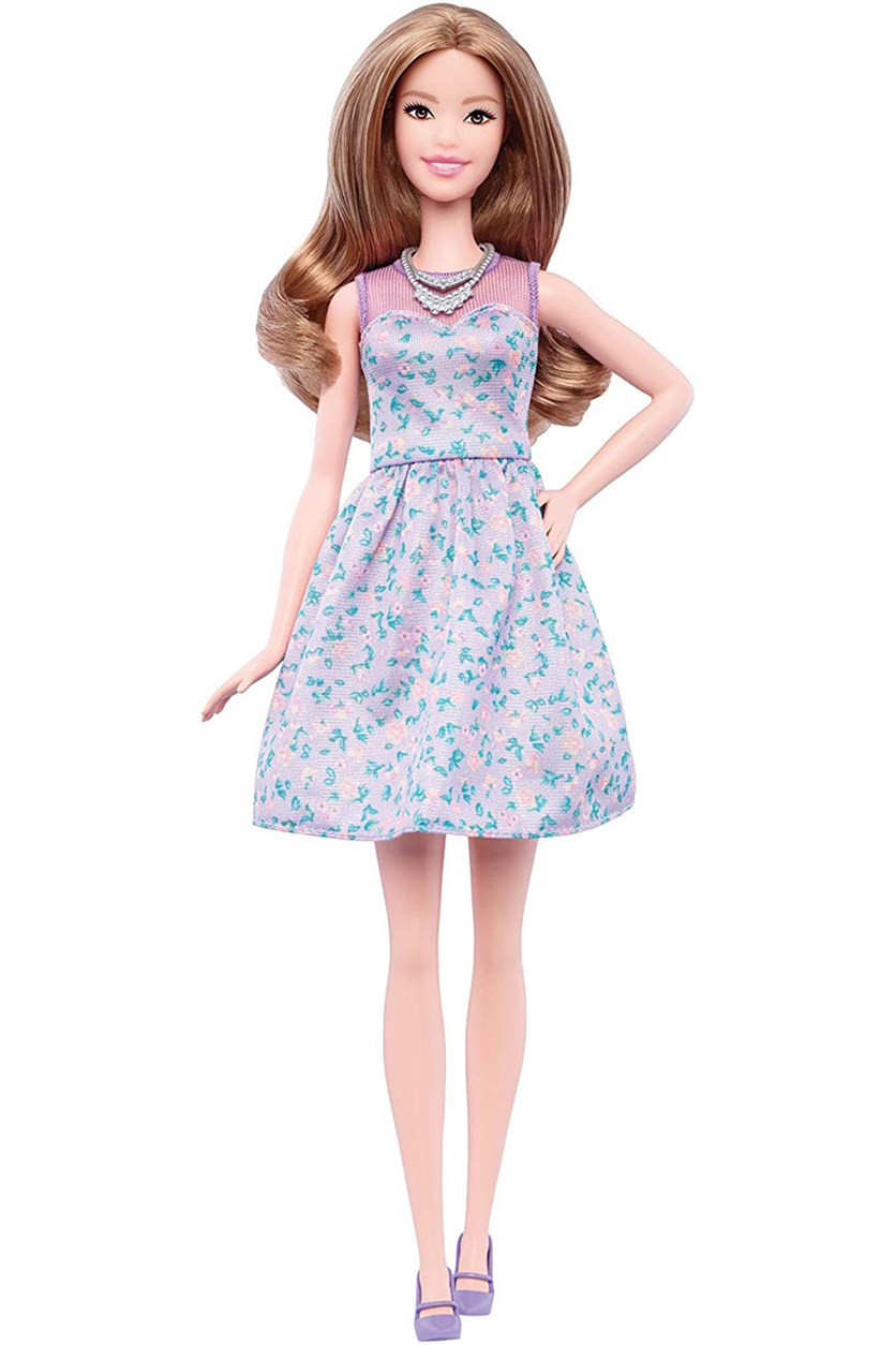 Fashionista Doll, Tan/Purple