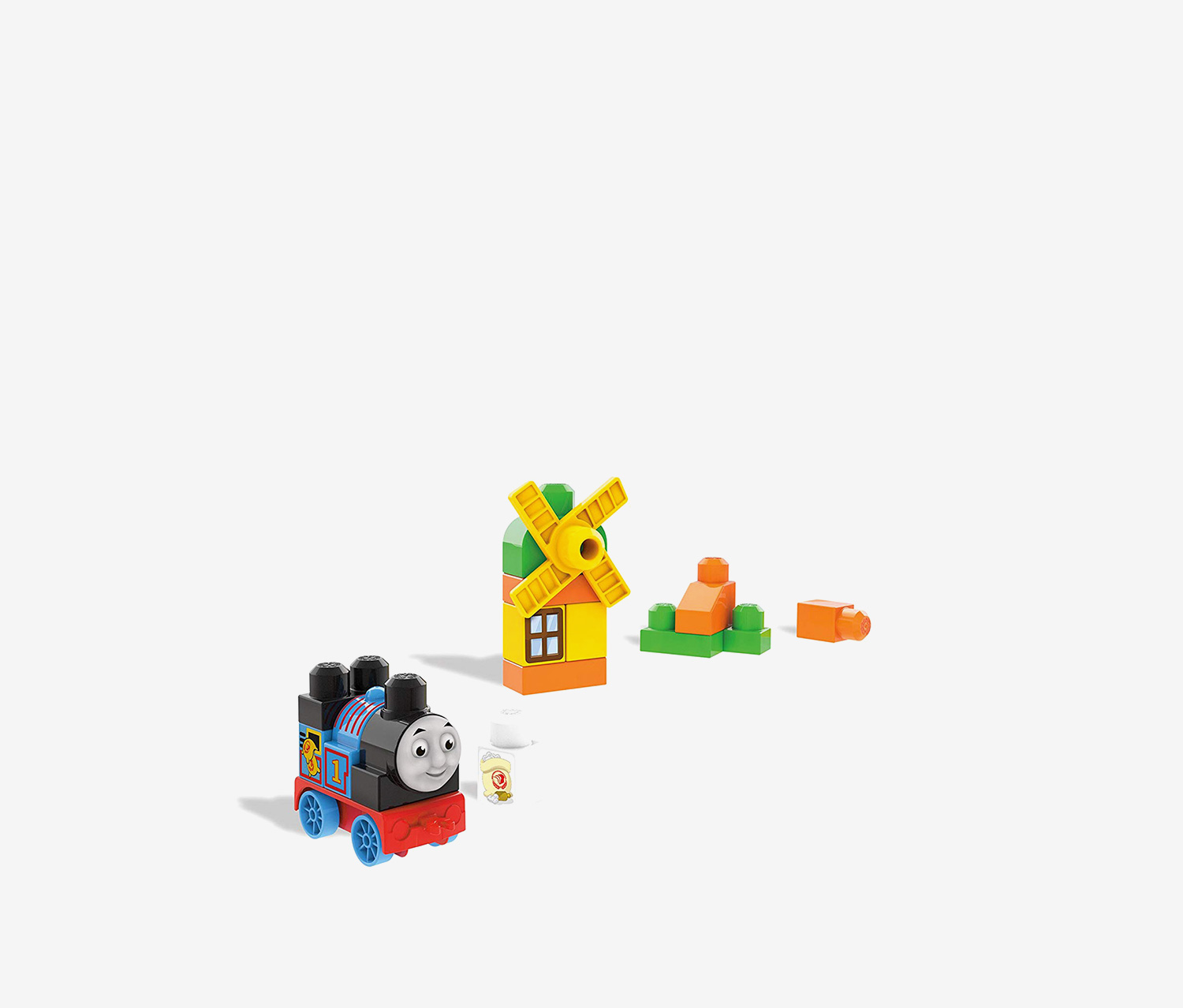 Thomas & Friends Sights of Sodor Thomas At The Mill Train Bag, Blue/Orange/Red/Green
