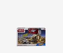 Hot Wheels Star Wars Mos Eisley Junction Play Set, White