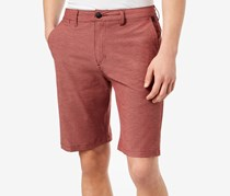 Quiksilver Heathered Amphibian Short, Pomegranate
