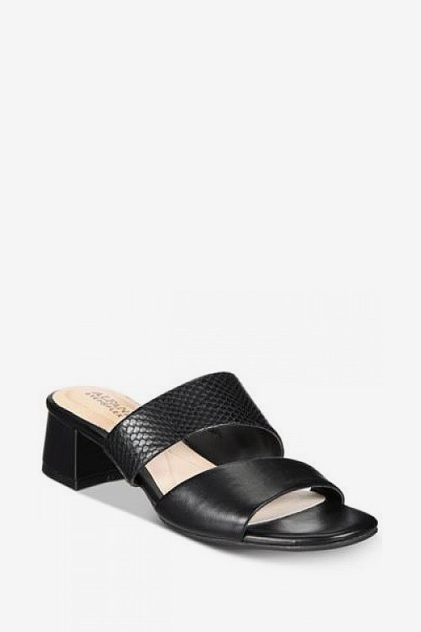 Women's Evviee Slide-On Sandals, Black