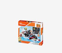 Mega Construx Despicable Me 3 Gru's Water Motorcycle Building Set, Blue Combo