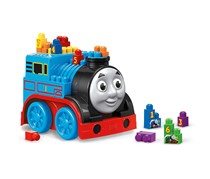 Mega Bloks Thomas & Friends Build & Go Building Set, Blue/Red/Black